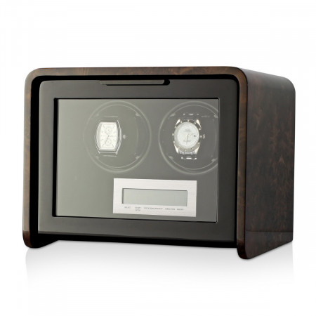 Boda Concept A2 Double watch winder (Dark Burl)