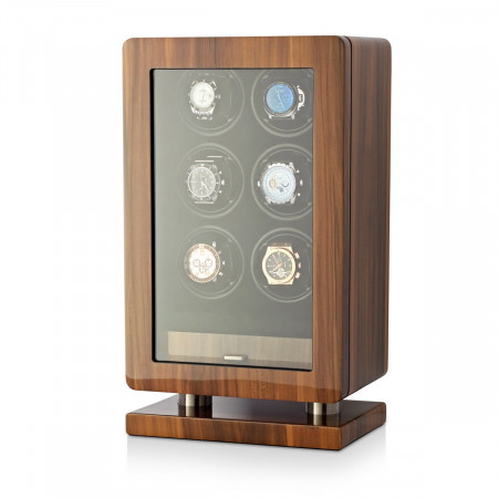 Boda B6 watch winder for 6 watches (Walnut)