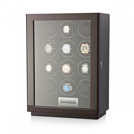 Boda D12 watch winder for 12 watches (Macassar)