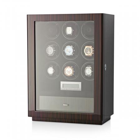 Boda D9 watch winder for 9 watches (Macassar)