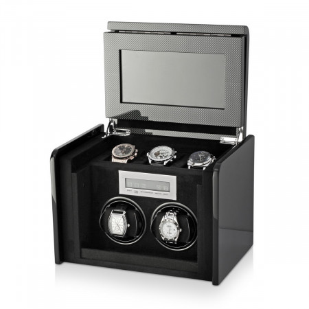 Boda F2+3 double watch winder box (Carbon)