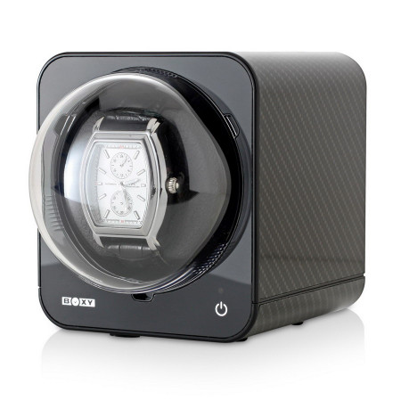 Fancy Brick Watch Winder (Carbon)
