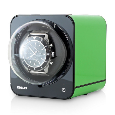 Fancy Brick Watch Winder (Green)