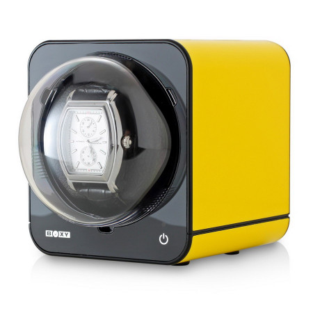 Fancy Brick Watch Winder (Yellow)