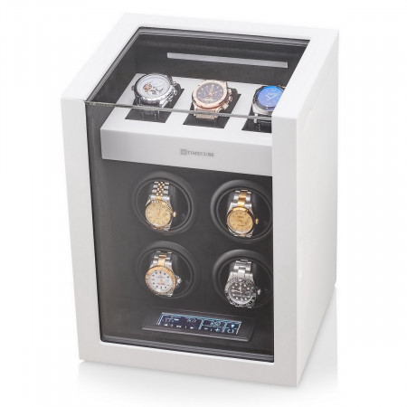 Timecube OW-4 Watch Winder (White)