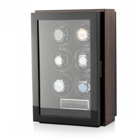 Gentleman 6 Premium watch winder (Macassar)