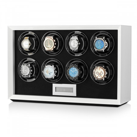 Petite 8 watch winder (White)