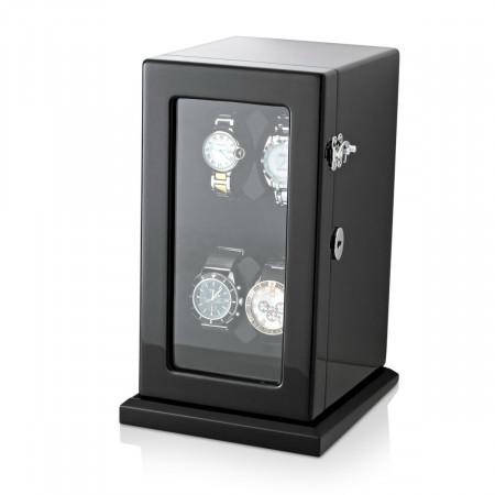 Compact 4 Watch Winder (Black)