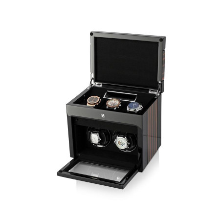 Gentleman Double Premium watch winder (Macassar)