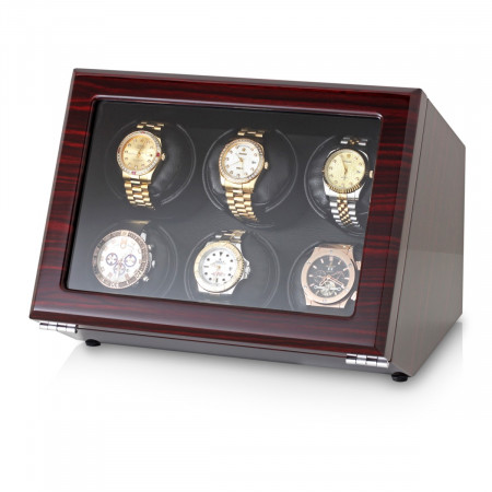 Watch Winder with Battery Power Option (Ebony)