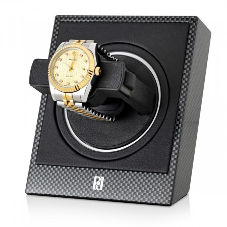 Optima 1 Single watch winder (Carbon)