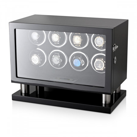 Watch Winder for 8 Watches (Black)