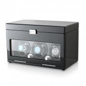 Leader Watch Winders 3+12 Watch Winder (Black + Beige)