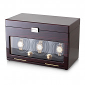 3+12 Watch Winder (Ebony + Beige)