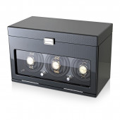 3+12 Watch Winder (Carbon + Black)