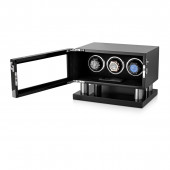 Triple Watch Winder for Automatic Watches (Black)