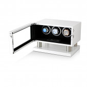 Leader Watch Winders Triple Watch Winder for Automatic Watches (White)
