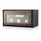 Boda F3+5 triple watch winder box (Dark Burl)