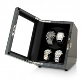 Leader Watch Winders 2+2 Watch Winder (Carbon + Black)