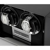 Petite 2 Double watch winder (Black)