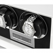 Petite 2 Double watch winder (White)