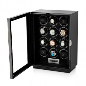 Boda D12 watch winder for 12 watches (Black)