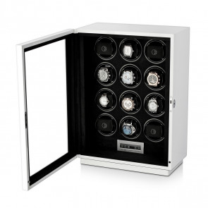 Boda D12 watch winder for 12 watches (White)
