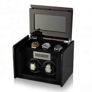 Boda F2+3 double watch winder box (Macassar)