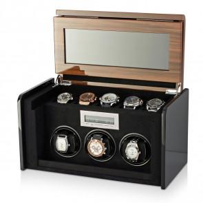 Boda F3+5 triple watch winder box (Walnut)