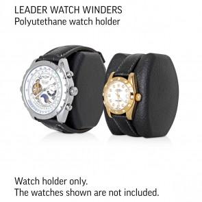 Leader Watch Winders Polyurethane Watch Holder (Black)