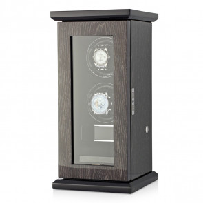 Classic 2 Double watch winder (Black Apricot)