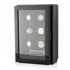 Gentleman 6 Premium watch winder (Black Shadow)