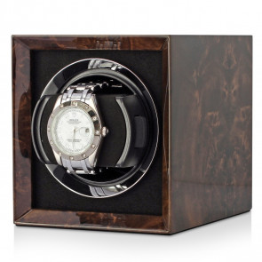 Petite 1 Single watch winder (Dark Burl)