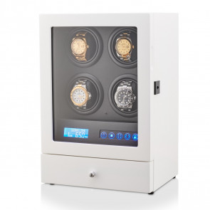 Leader 4 Watch Winder (White + Black)