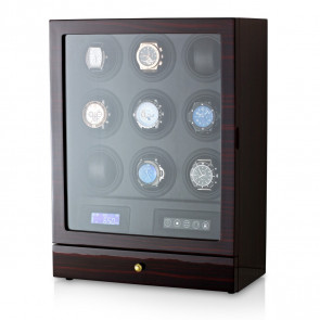 Watch Winder for 9 Watches (Ebony)