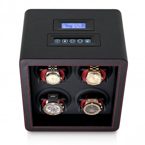 Leader Watch Winders Quad Watch Winder (Black)