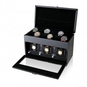 3+12 Watch Winder (Carbon + Black)