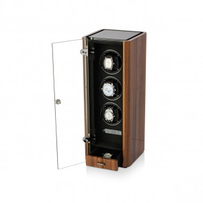 Boda C3 triple watch winder (Walnut)