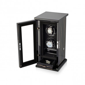 Classic 2 Double watch winder (Black Shadow)