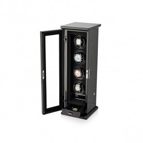 Classic 4 Quad watch winder (Black Apricot)