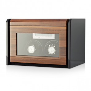 Boda F2+3 double watch winder box (Walnut)
