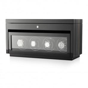 Gentleman Quad Premium watch winder (Black Shadow)