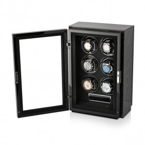 Gentleman 6 Premium watch winder (Black Apricot)