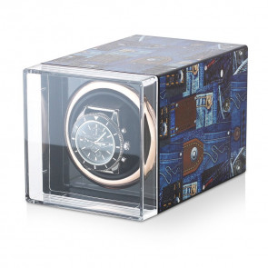 Watch winder with Art print