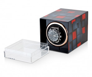 Single Watch Winder with Art print
