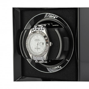 Petite 1 Single watch winder (Black)