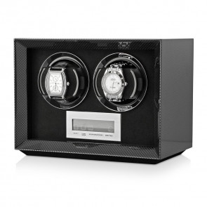 Petite 2 Double watch winder (Carbon)