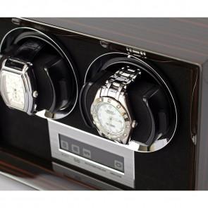 Petite 2 Double watch winder (Macassar)