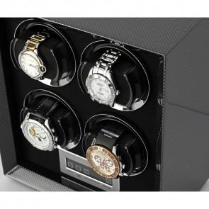 Petite 4 Quad watch winder (Carbon)