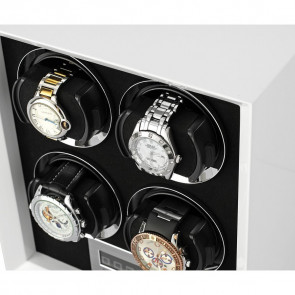 Petite 4 Quad watch winder (White)